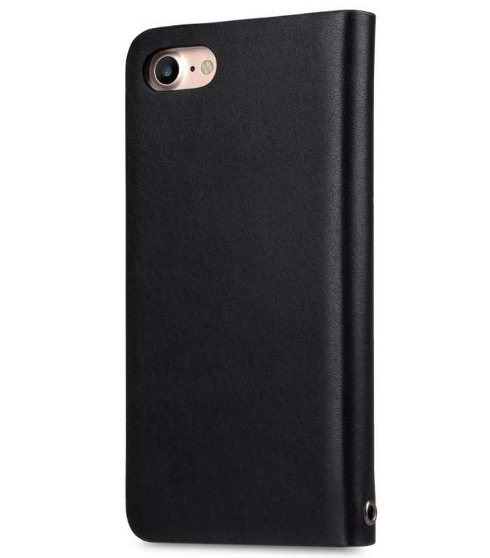 Melkco Fashion Cocktail Series slim Filp Case for Apple iPhone 7 / 8 (4.7') - (Italian Black)