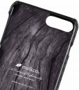 """Melkco Holmes Series Fine Grid Genuine Leather Dual Card slot with stand Case for Apple iPhone 7 / 8 Plus (5.5"""") – (Black)"""