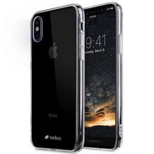 Melkco PolyUltima Case for Apple iPhone X - (Transparent)