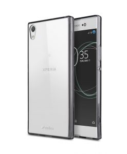 Melkco PolyUltima Case for Sony Xperia XA1 Ultra - (Transparent Black)