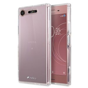 Melkco PolyUltima Case for Sony Xperia XZ1 Compact - (Transparent)