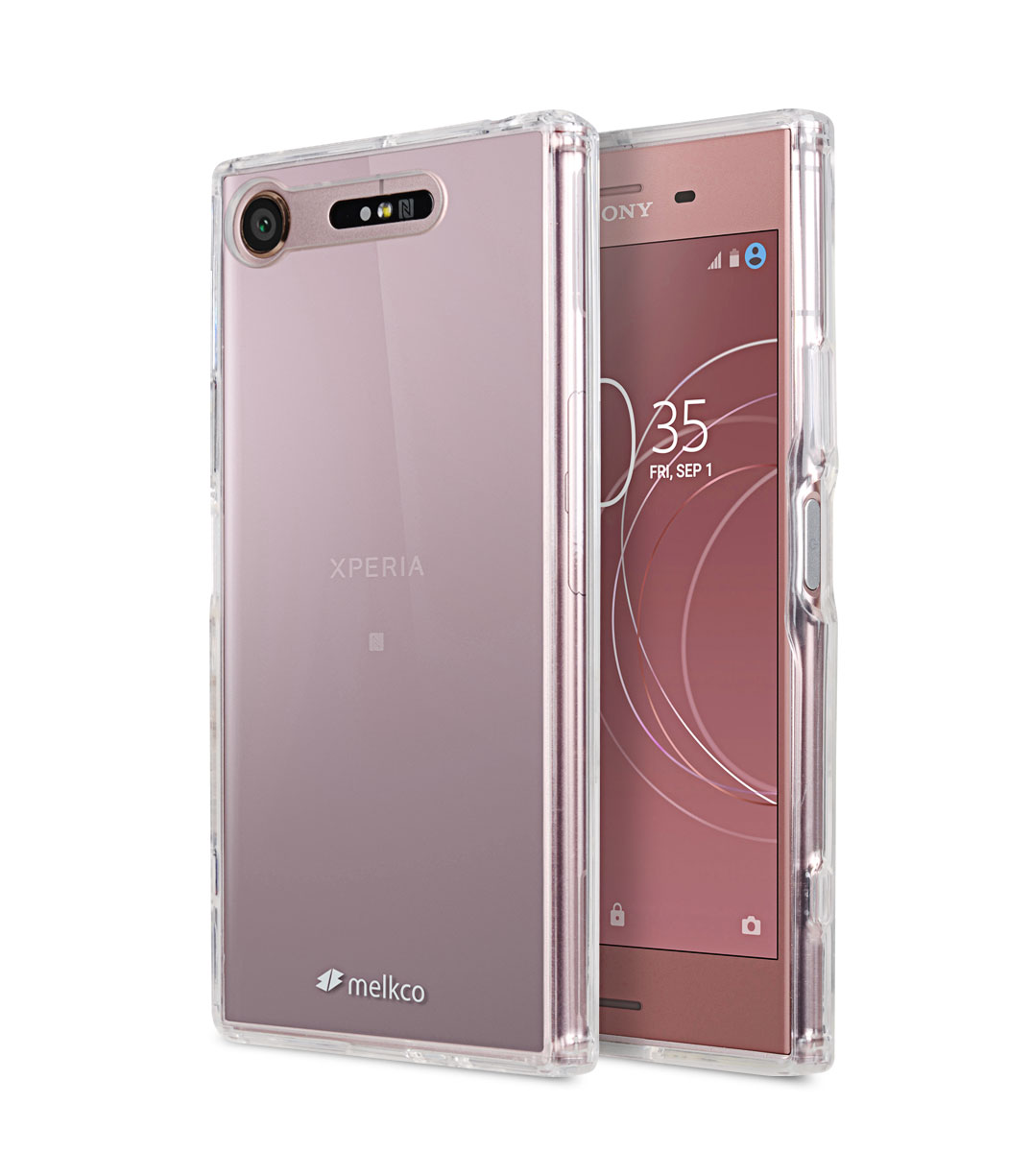 PolyUltima Case for Sony Xperia XZ1 - (Transparent)