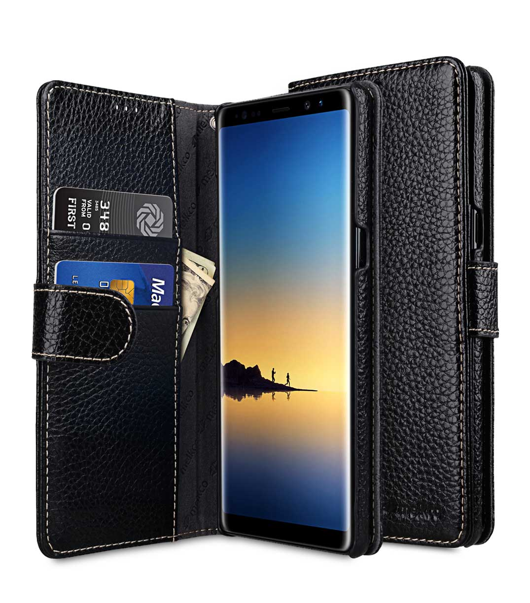 Premium Leather Case For Samsung Galaxy Note 8 Wallet