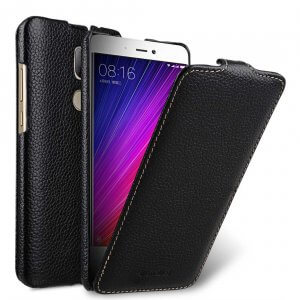 Melkco Premium Leather Case for Xiaomi Mi 5s Plus - Jacka Type (Black LC)