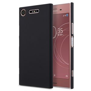 Melkco Rubberized PC Cover for Sony Xperia XZ1 Compact - (Black)