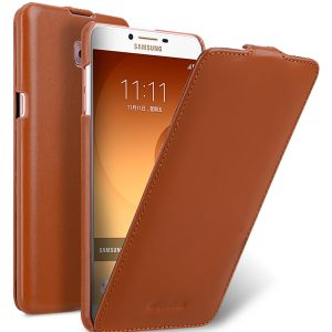 Premium Leather Case for Samsung Galaxy C9 Pro - Jacka Type