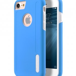 "Melkco Kubalt Double Layer Case for Apple iPhone 7 / 8 (4.7"") - Blue/White"