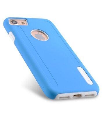 """Melkco Kubalt Double Layer Case for Apple iPhone 7 / 8 (4.7"""") - Blue/White"""