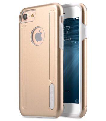 """Melkco Kubalt Double Layer Case for Apple iPhone 7 / 8 (4.7"""") - Gold/White"""