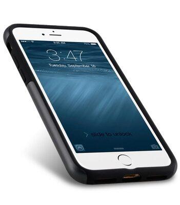 """Melkco Kubalt Double Layer Case for Apple iPhone 7 / 8 (4.7"""") - Grey/Black"""