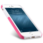 "Melkco Kubalt Double Layer Case for Apple iPhone 7 / 8 (4.7"") – Pink / White"