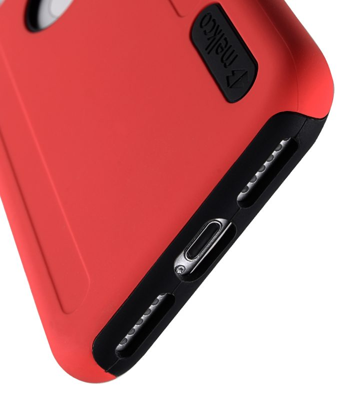 "Melkco Kubalt Double Layer Case for Apple iPhone 7 / 8 (4.7"") - Red/Black"