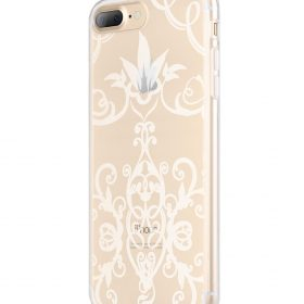 Melkco Nation Series Arabesque 2 Pattern TPU Case for Apple iPhone 7 / 8 Plus – (Transprent)