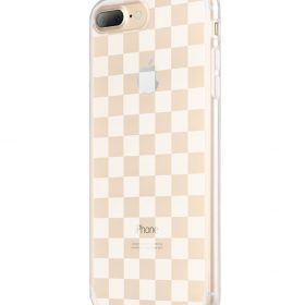 Melkco Nation Series Check Card Pattern TPU Case for Apple iPhone 7 / 8 Plus – (Transprent)