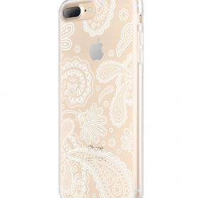 Melkco Nation Series Paisley Pattern TPU Case for Apple iPhone 7 / 8 Plus – (Transprent)