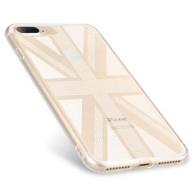 Melkco Nation Series Union Jack Pattern TPU Case for Apple iPhone 7 / 8 Plus – (Transprent)