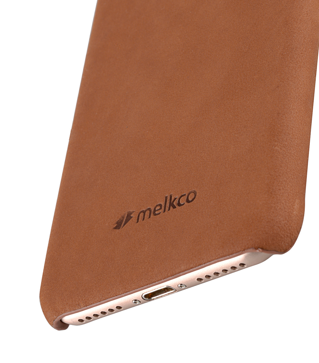 "Melkco Premium Leather Snap Cover for Apple iPhone 7 / 8 (4.7"")- Classic Vintage Brown"