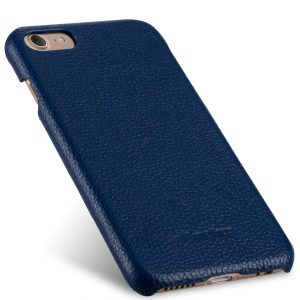 "Melkco Premium Leather Snap Cover for Apple iPhone 7 / 8 (4.7"")- Dark Blue LC"