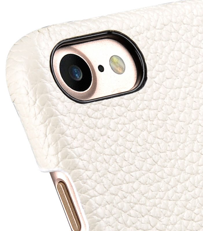 "Melkco Premium Leather Snap Cover for Apple iPhone 7 / 8 (4.7"")- White LC"