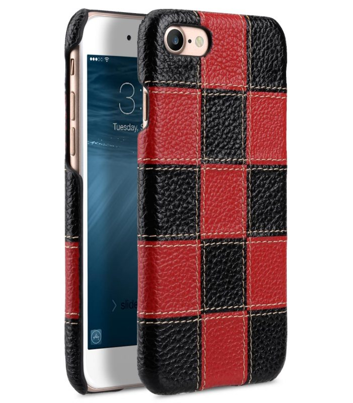 """Patchwork Series Premium Leather Snap Cover for Apple iPhone 7 / 8 (4.7"""")"""