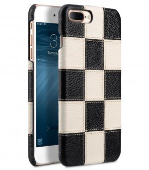 """Patchwork Series Premium Leather Snap Cover for Apple iPhone 7 / 8 Plus (5.5"""")"""