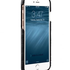 "Melkco Mini PU Leather Snap Cover for Apple iPhone 7 / 8 (4.7"") – (Black Crocodile Pattern PU)"