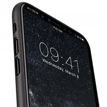 Air PP Case for Apple iPhone X - (Transparent Black)