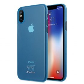 Melkco Air PP Case for Apple iPhone X – (Transparent Blue)