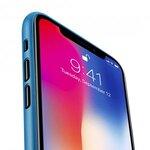 Melkco Air PP Case for Apple iPhone X - (Transparent Blue)
