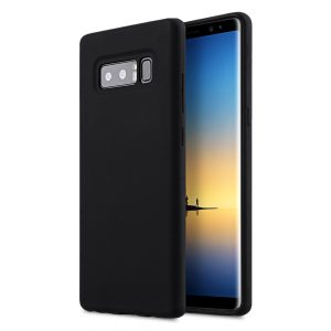 Melkco Aqua Silicone Case for Samsung Galaxy Note 8 - (Black)