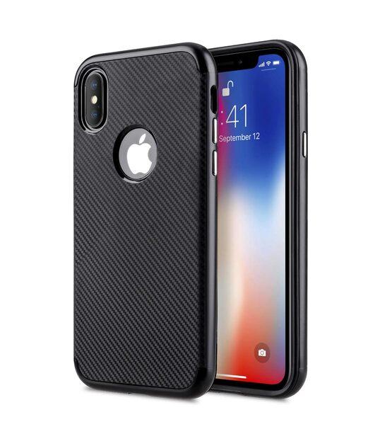 CarbonVim Case for Apple iPhone X - (Black)