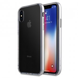 Melkco Dual Layer Pro Case for Apple iPhone 8/X - (Silver)