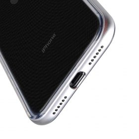 Melkco Dual Layer Pro Case for Apple iPhone 8/X – (Silver)