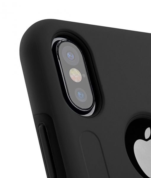 Melkco Kubalt Double Layer Case Special Edition for Apple iPhone X - (Black/Black)