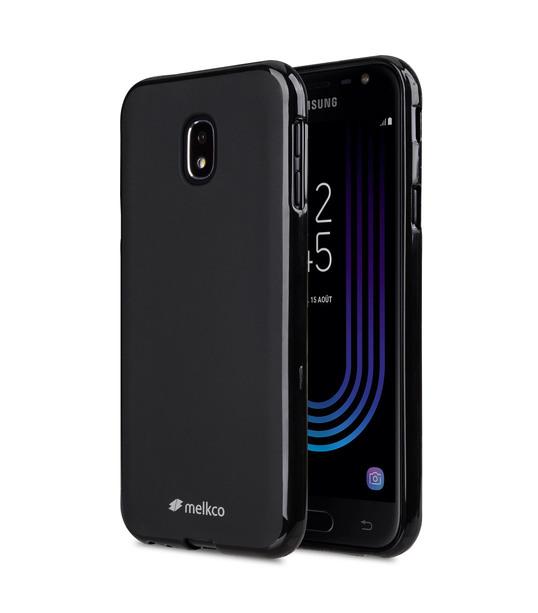 Poly Jacket TPU Case for Samsung Galaxy J3 (2017) - (Black Mat)