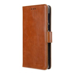 Melkco PU Leather Case for Nokia 8 - Wallet Book Clear Typ (Brown)