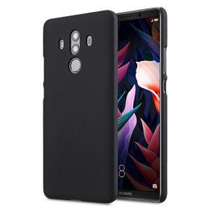 Melkco Rubberized PC Cover Case for Huawei Mate 10 Pro - (Black)