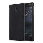Melkco Rubberized PC Cover Case for Nokia 3 - (Black)