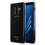 Melkco Air Superlim TPU Case for Samsung Galaxy A8 Plus (2018) - (Transparent)