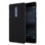 Melkco Rubberized PC Cover Case for Nokia 5 - (Black)