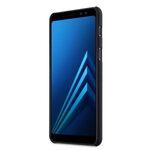 Melkco Rubberized PC Cover Case for Samsung Galaxy A8 (2018) - (Black)