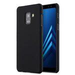 Melkco Rubberized PC Cover Case for Samsung Galaxy A8 Plus (2018) - (Black)