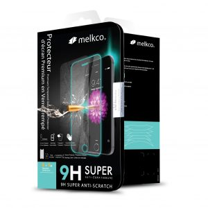 Melkco 3D Curvy 9H Tempered Glass Screen Protector for Samsung Galaxy S9 Plus - (Black)