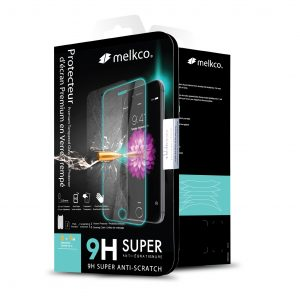 Melkco 9H Tempered Glass Case for Huawei Honor 9 Lite - (Transparent)