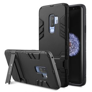 Melkco Element Defense with Stand function Case for Samsung Galaxy S9 Plus - (Black)
