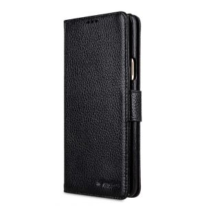 Melkco Premium Leather e Case for Samsung Galaxy S9 Plus - Wallet Book Type (Black LC)