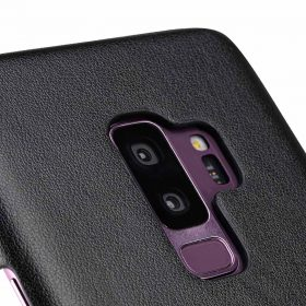 Melkco PU Leather Dual Card Slots Back Cover Case for Samsung Galaxy S9 Plus – (Black)