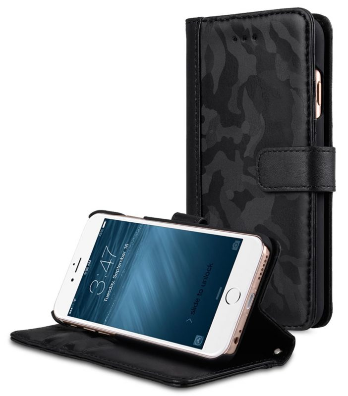 "Camo Semi Series Camo Leather Case for Apple iPhone 6s / 6 Plus (5.5"")"
