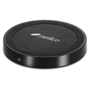 Melkco Fast Wireless Charger Power Cap Wireless Charger - (Black)