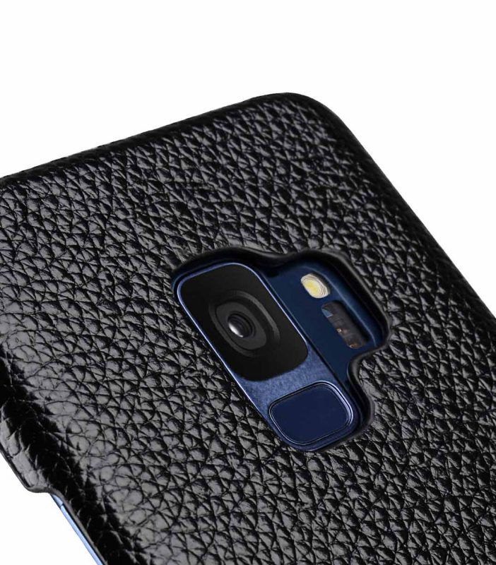 Melkco Premium Leather Card Slot Back Case for Samsung Galaxy S9 - (Black LC)Ver.2